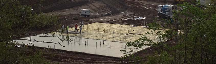 Commercial Concrete Pouring